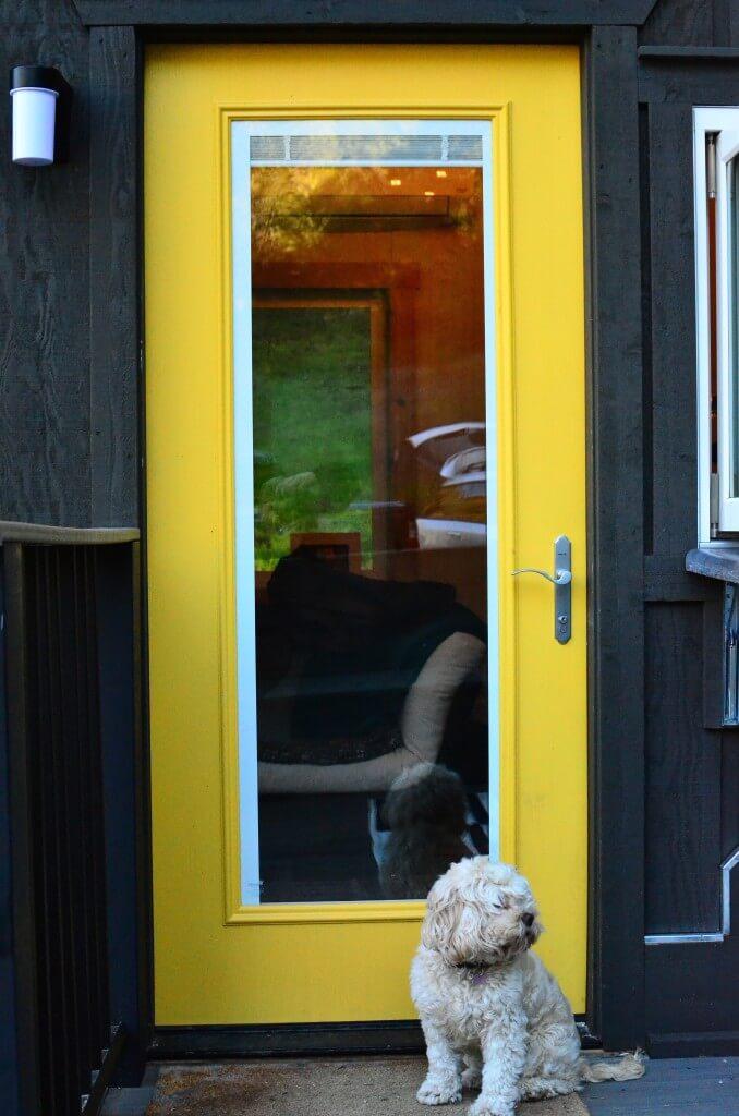 Thermadoor Fiberglass door