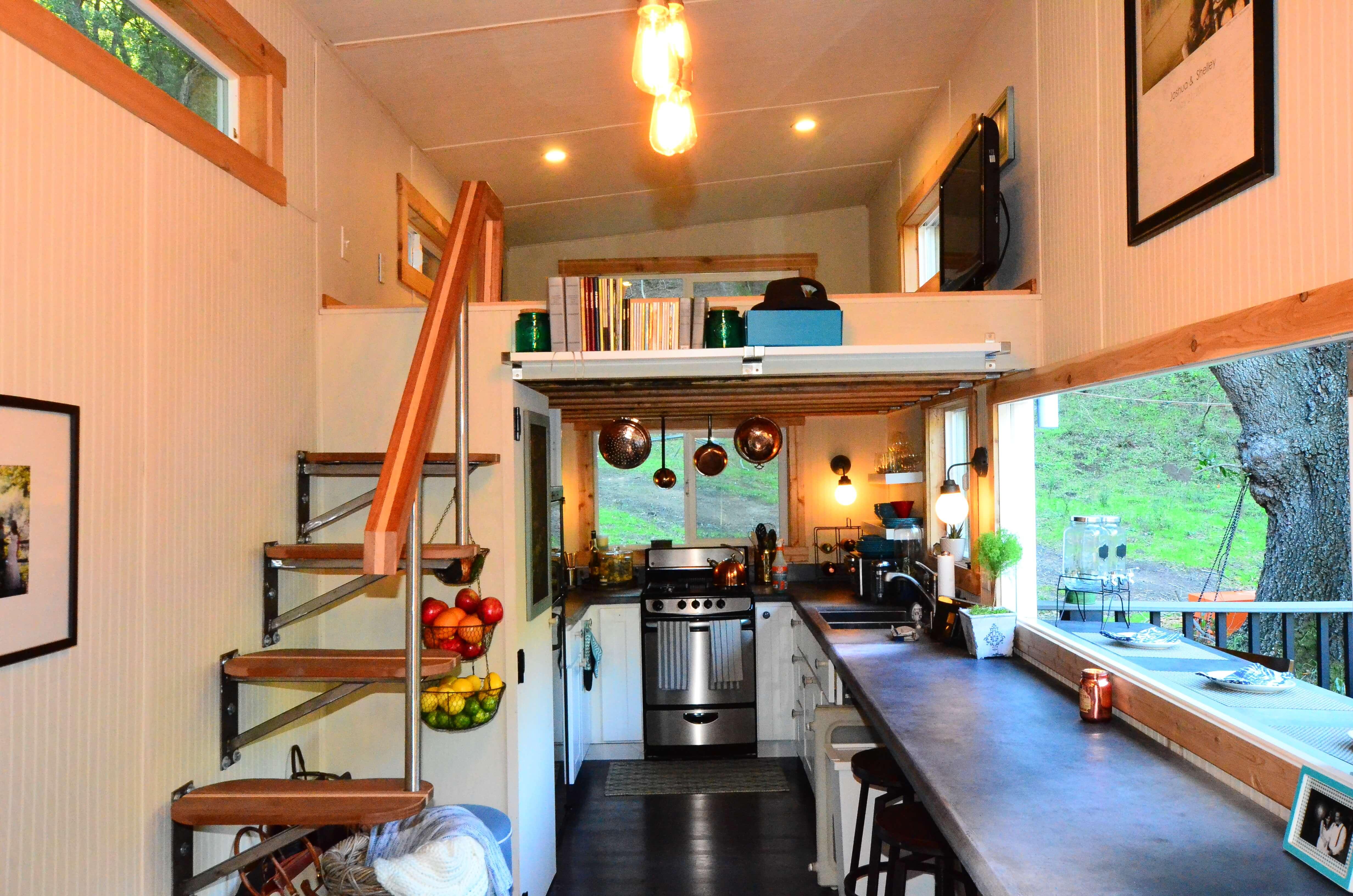 Wondrous Tiny House Walk Through Interior Tiny House Basics Largest Home Design Picture Inspirations Pitcheantrous