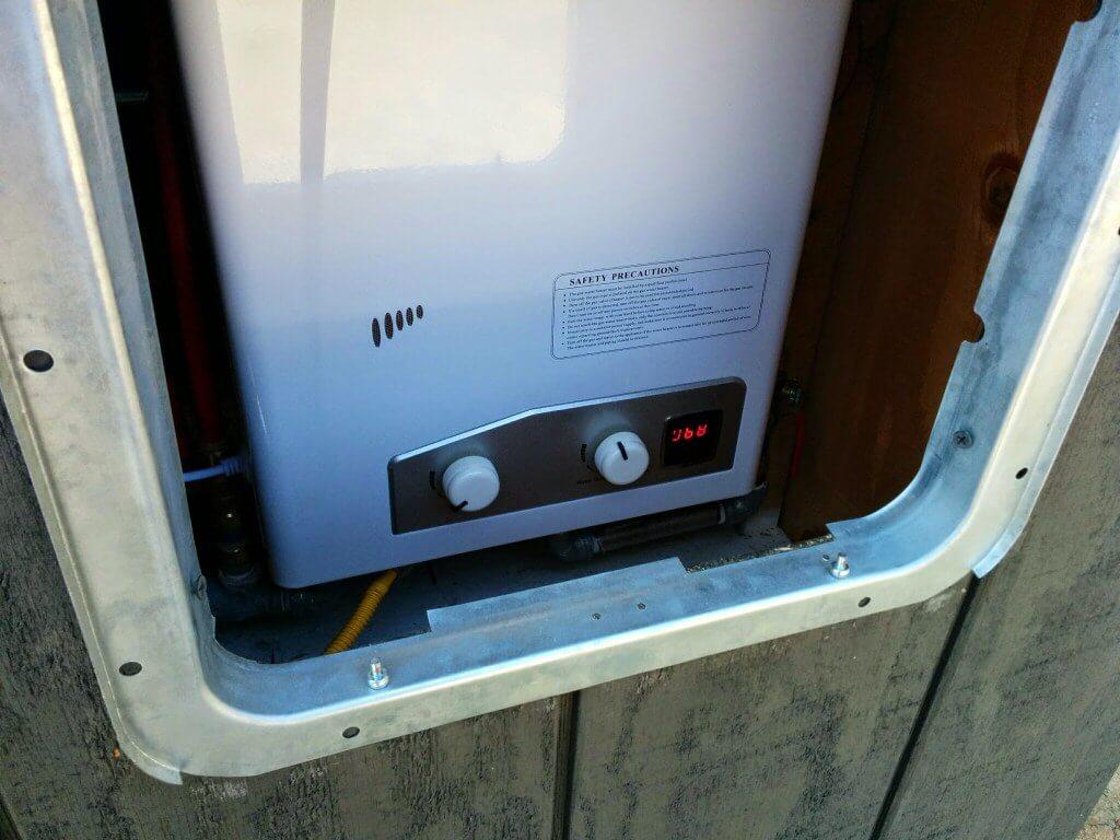 Tiny House Water Heater