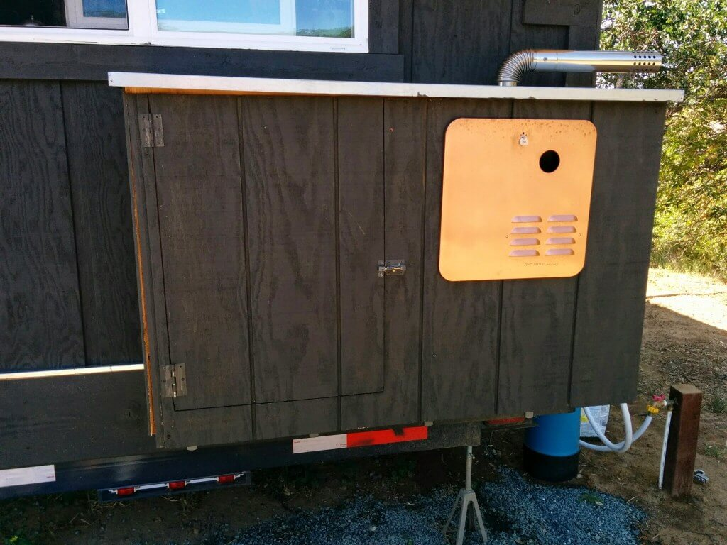 propane with water heater shower area natural a tankless for outdoor heaters hot closet demand plumber outside image redwood gas lodge on circular large
