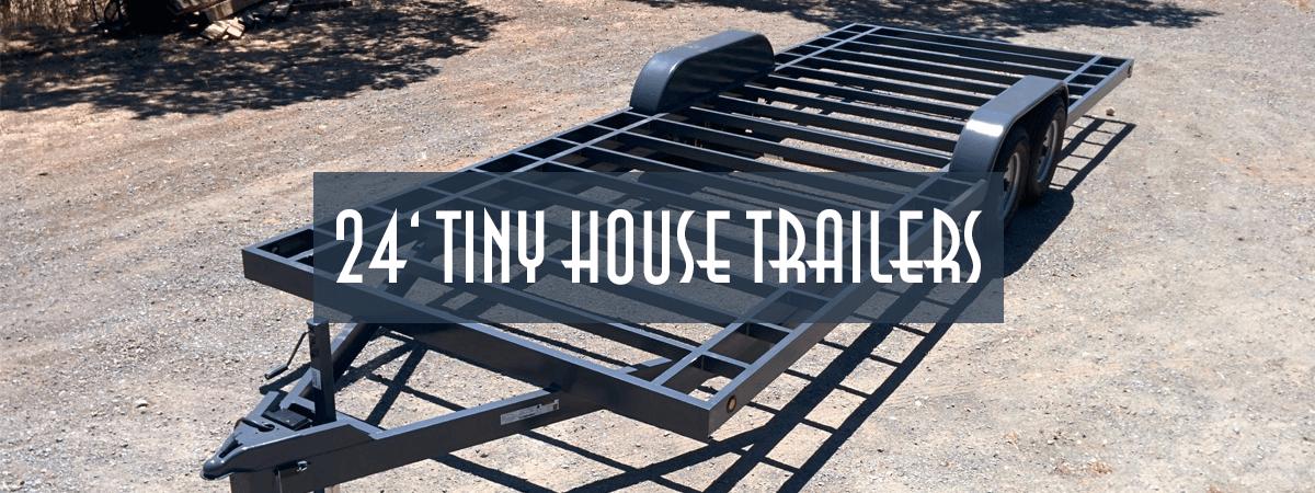 Tiny house trailers tiny house basics for 24 ft tiny house