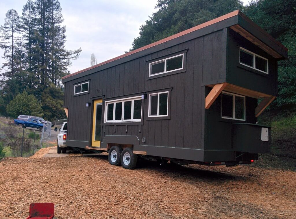 Moving The Tiny House Tiny House Basics