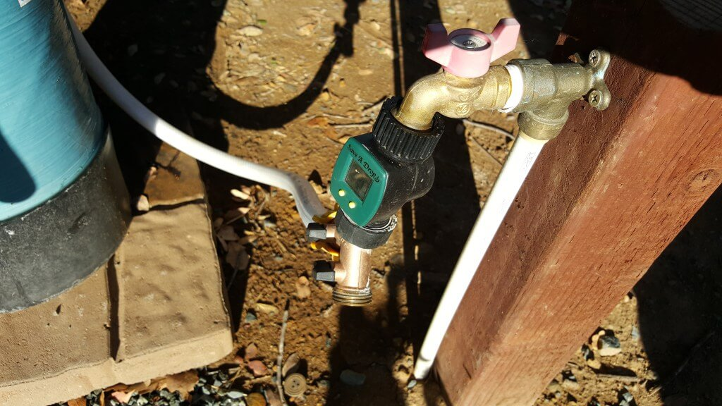 Tiny House Water Usage - Water Meter